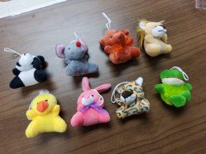 small stuffed animals